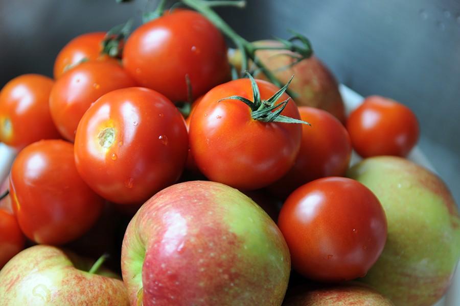 Как быстро дозреть помидоры дома? Яблоки+томаты и бананы