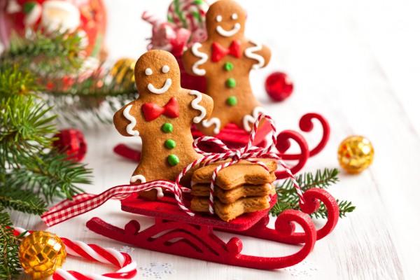 Имбирное печенье создаст потрясающий аромат Нового года в доме.
