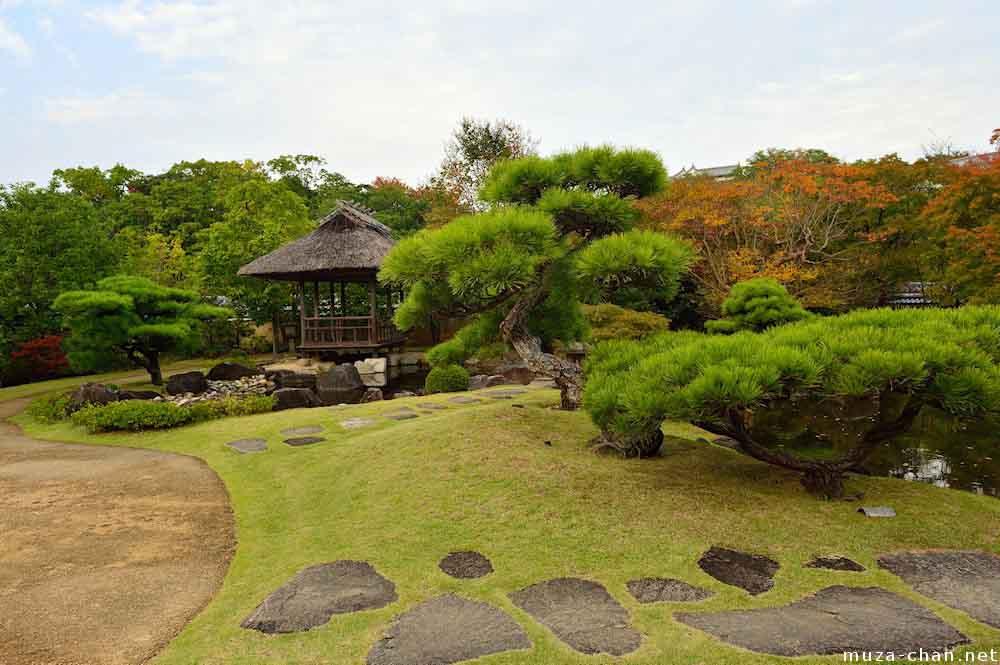 Пустой японский сад - тоже хороший вариант.