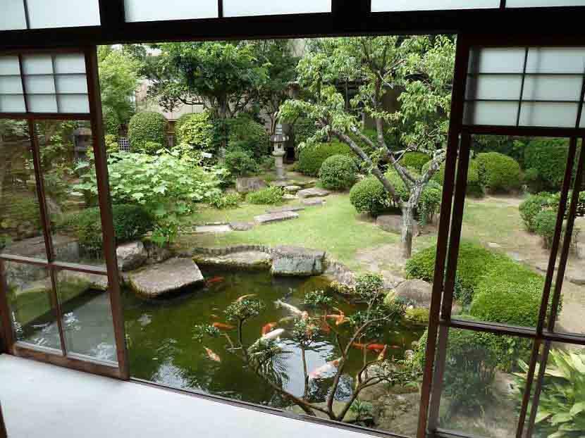 Пруды и водоемы для японского оформления сада.