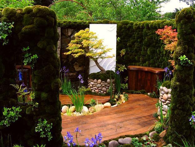 Японский сад своими руками на небольшом участке.